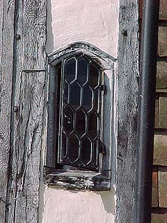 8 Palace Street - side window