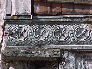 8 Palace Street - carving